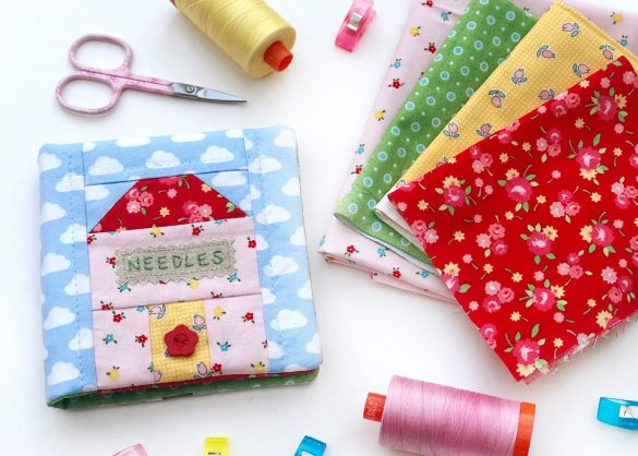Home Sweet Home Needlecase Pattern
