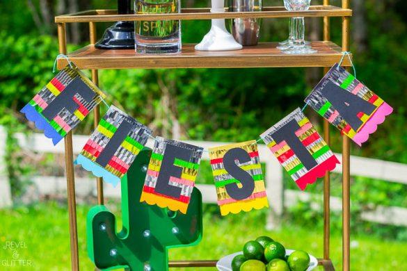 Create a Fiesta Banner for Cinco de Mayo