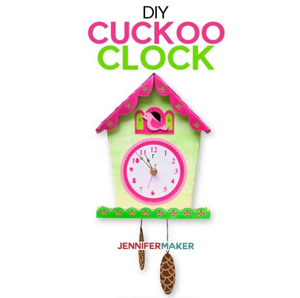 DIY Wall Clock with a Cuckoo! (Yes, It Really Tells Time!)