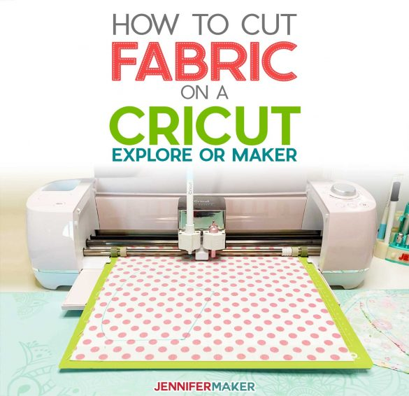 How to Cut Fabric With Cricut Explore or Maker!