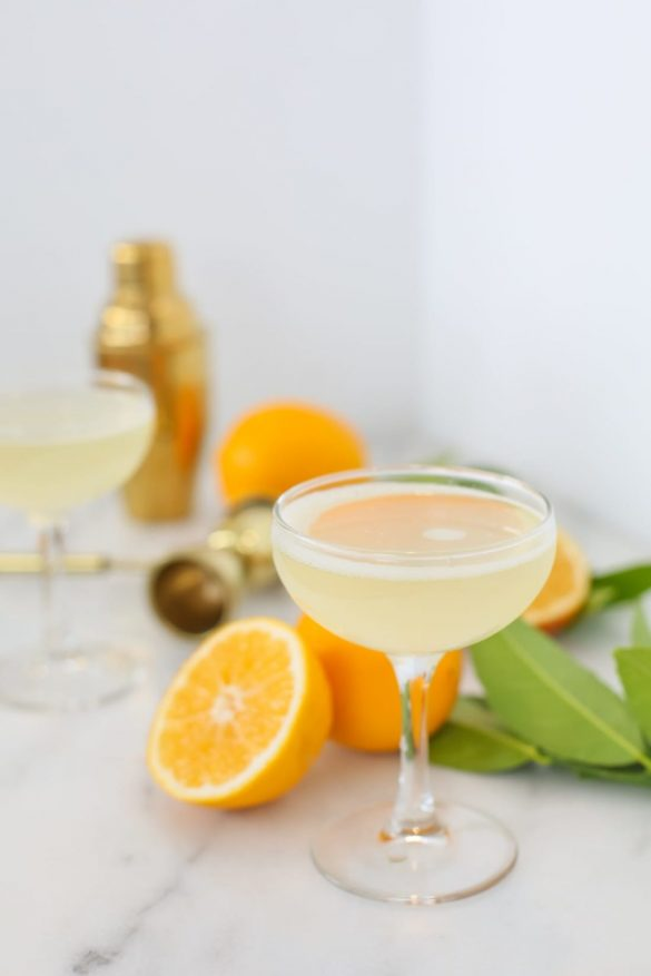 How to Make a Bee's Knees Cocktail
