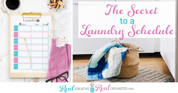 How to Get the Family Involved with this Easy Laundry Schedule