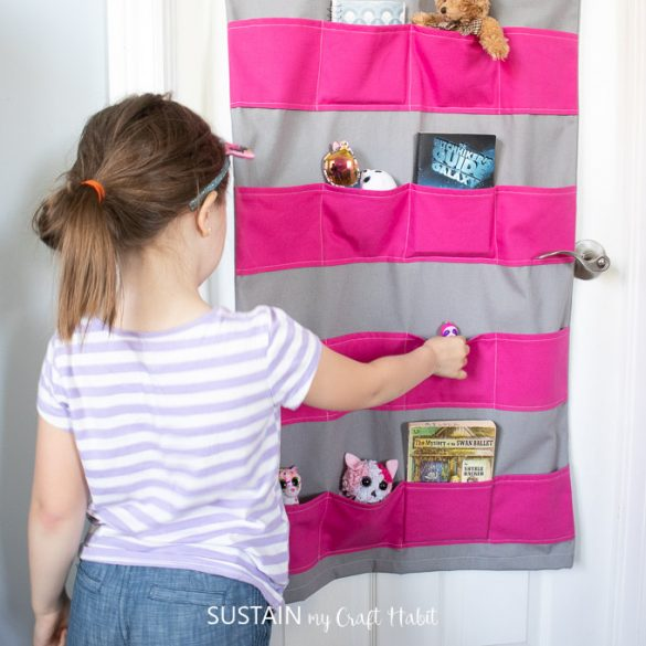 DIY Hanging Toy Storage