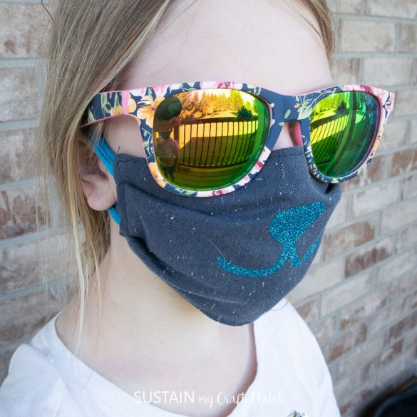DIY Kid's Face Mask with FREE pattern