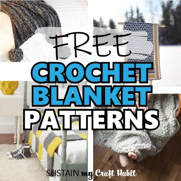 Beautiful Free Crochet Blanket Patterns