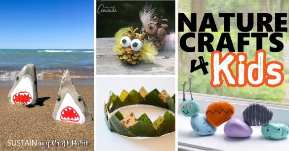 Fun Nature Crafts for Kids