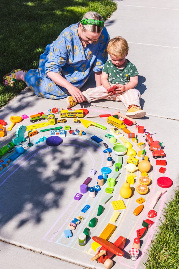 30 Sidewalk Chalk and Hose Activities