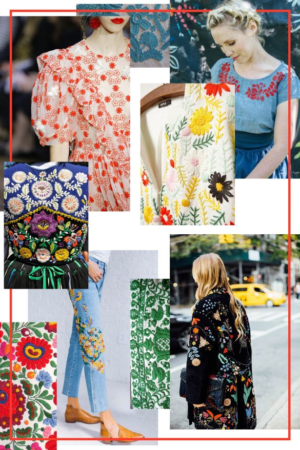 2020 Trend Alert: Embroidered Everything