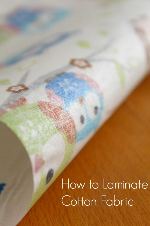 How To Laminate Fabric At Home