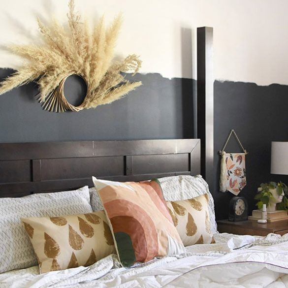 Updating your Master Bedroom for under $100