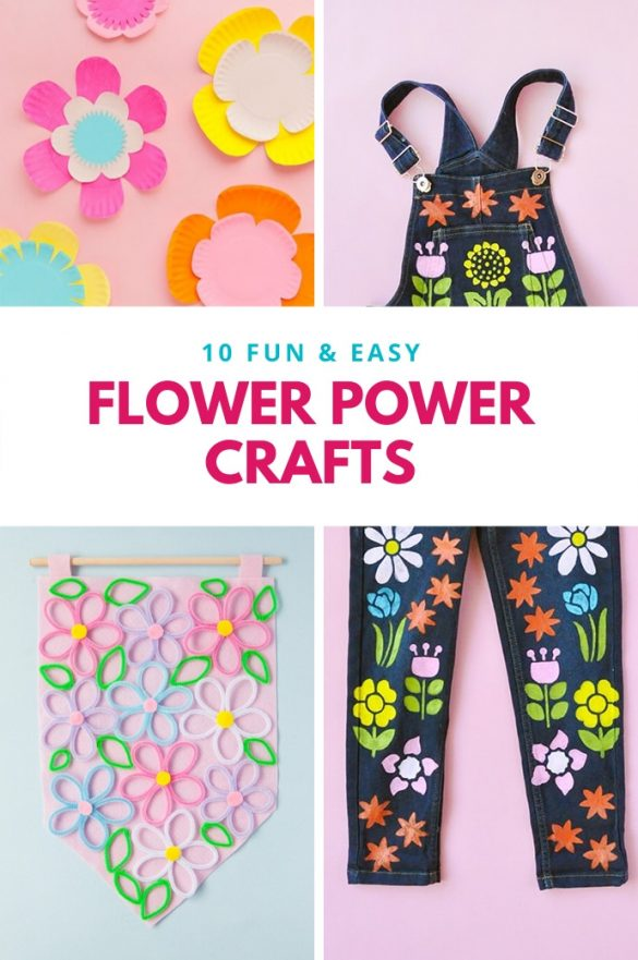 10 Flower Power Crafts to Welcome Summer