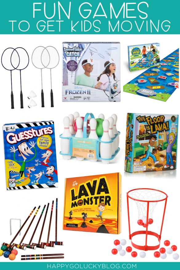Fun Games to Get Kids Moving