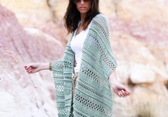 Light Crochet Shawl – Summertide Wrap Pattern