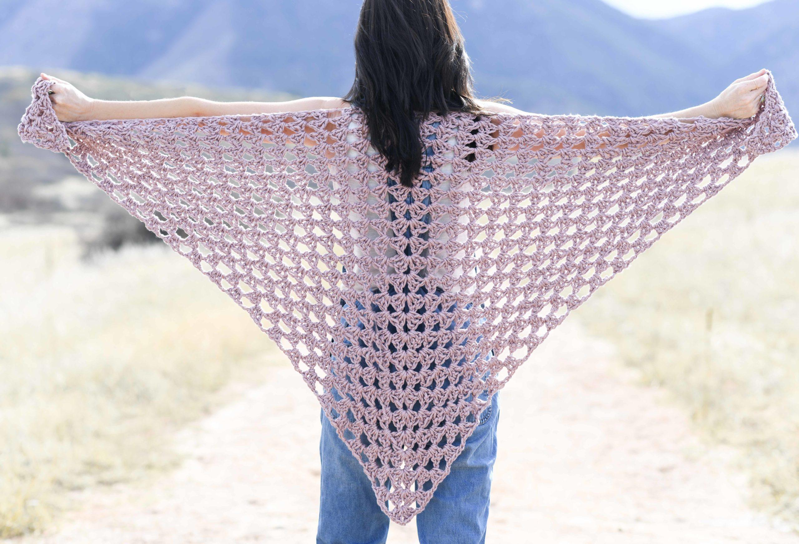 Agape Wrap – Easy Shawl Crochet Pattern
