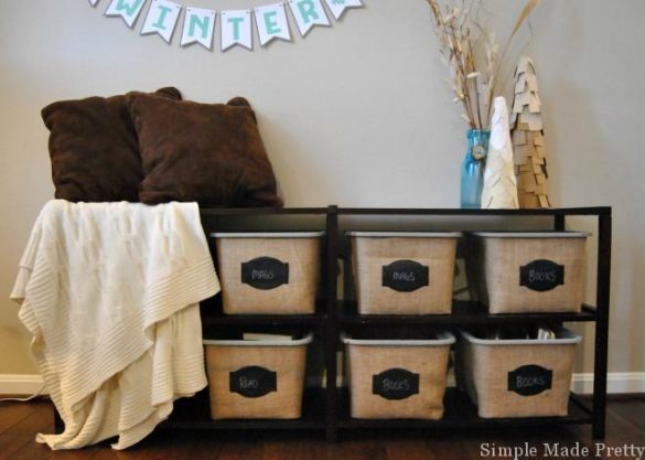 DIY Dollar Tree Storage Bins