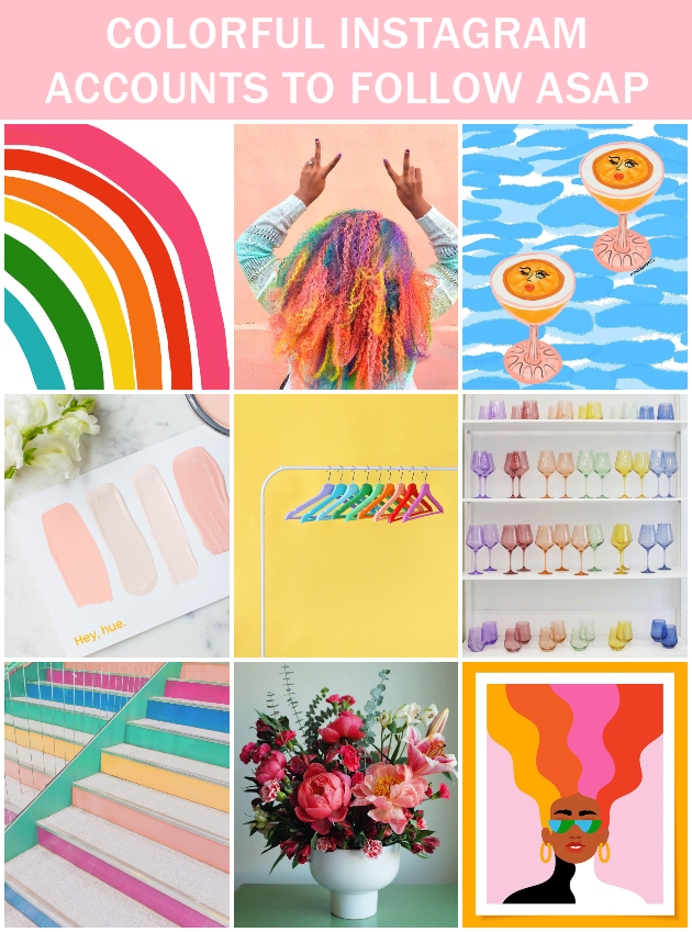 9 Colorful Instagram Accounts to Follow ASAP