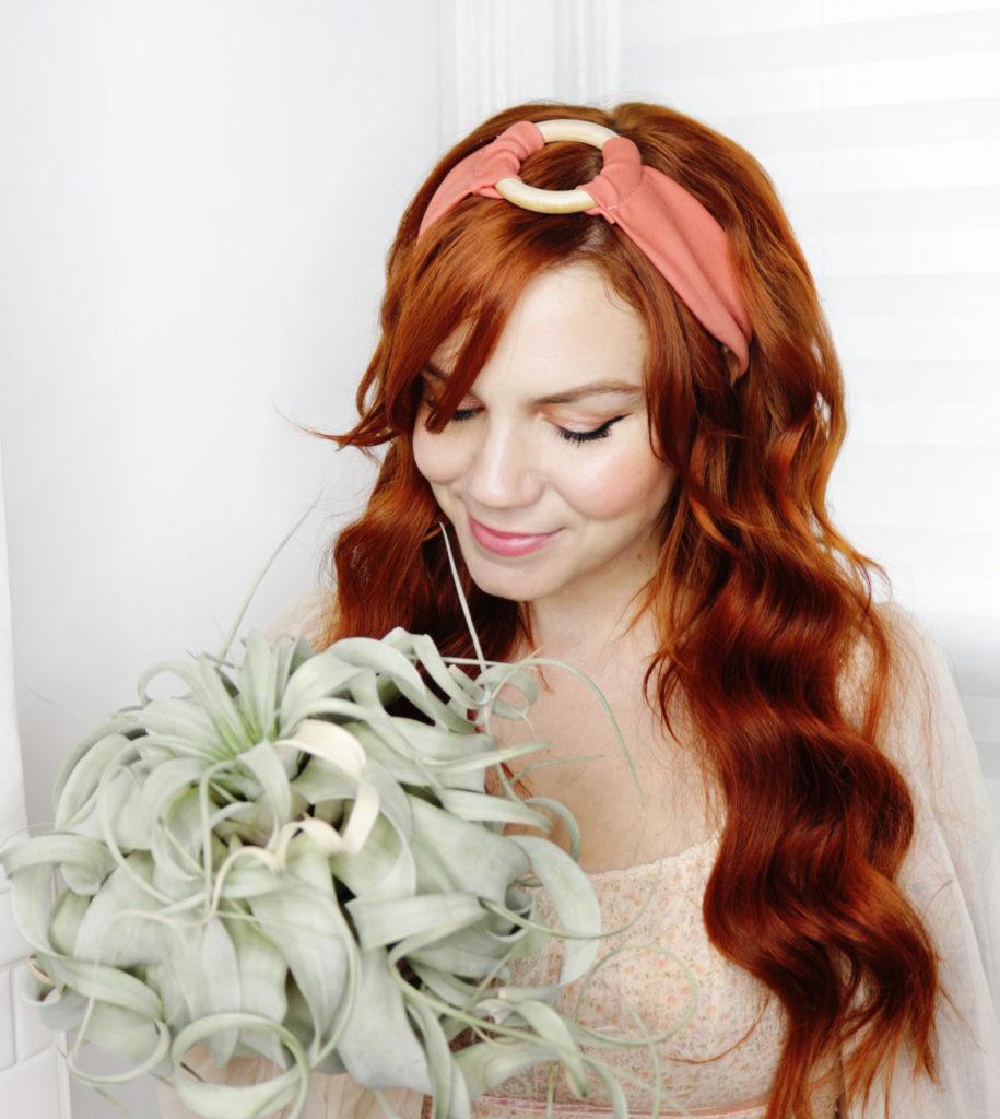 Wooden O-Ring Headband DIY
