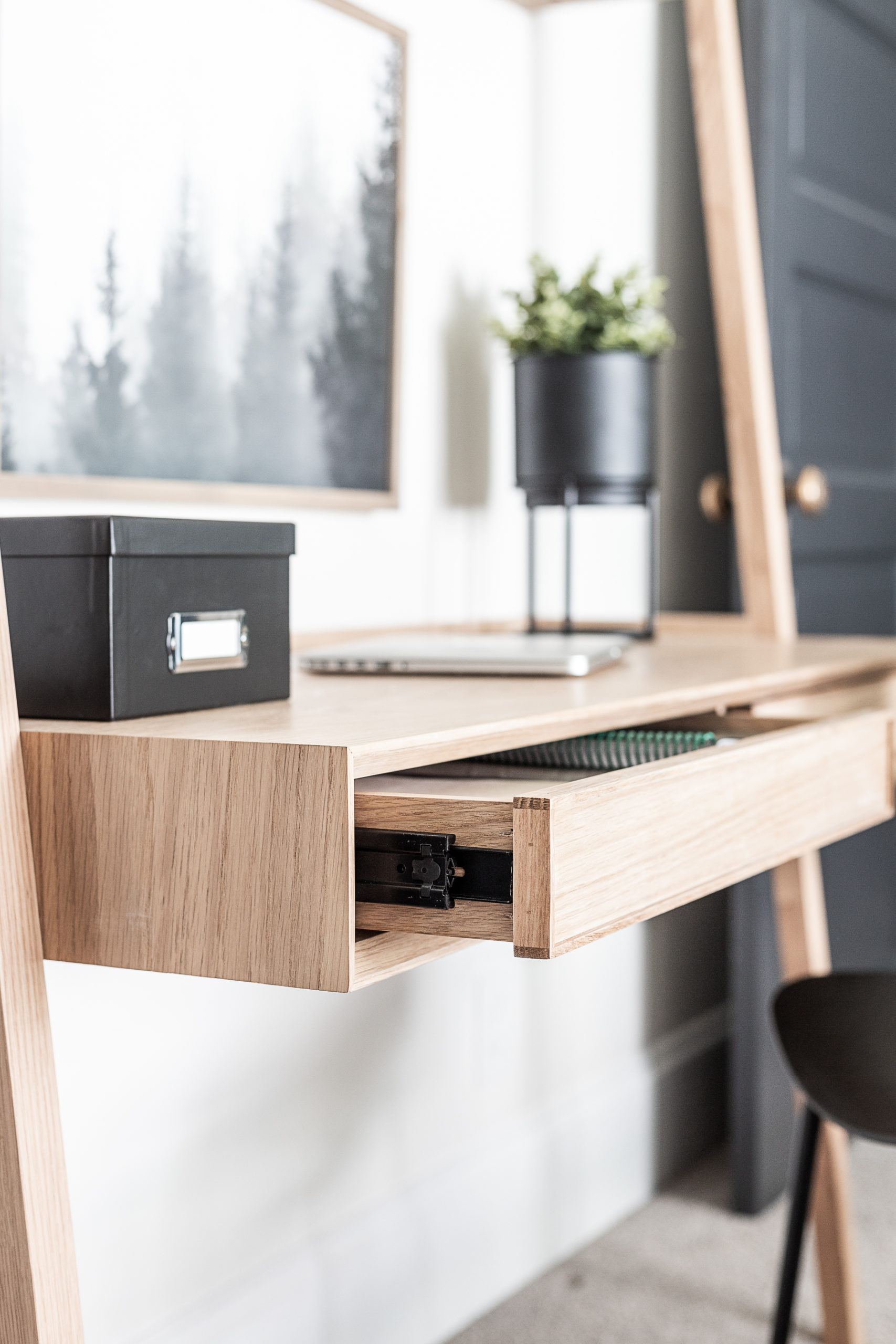 Master Bedroom Home Office Decor