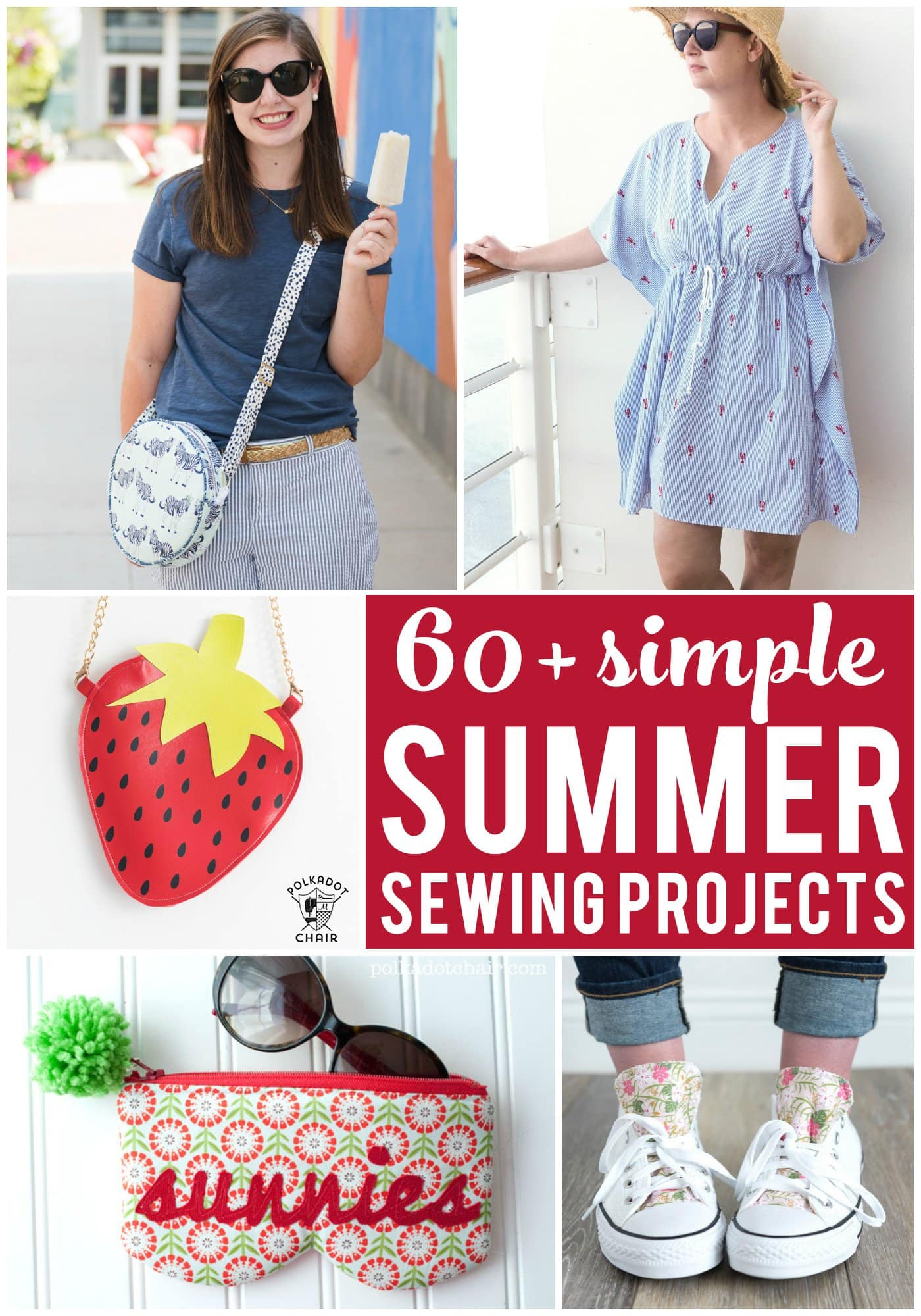 60+ Easy Summer Sewing Projects