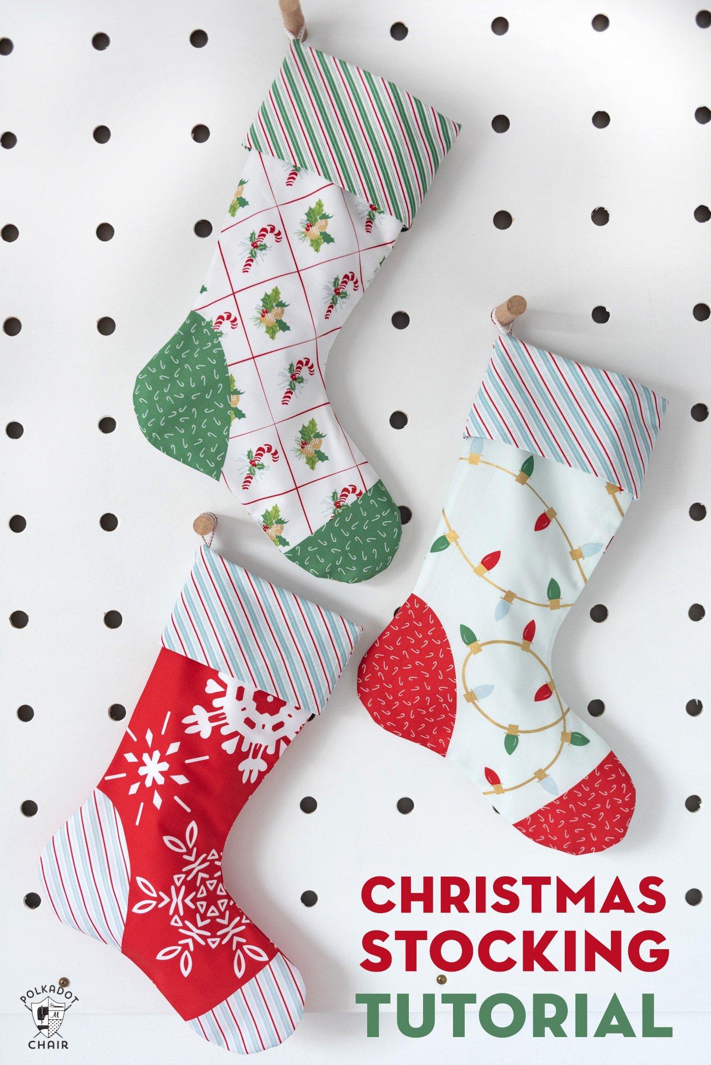 Simple Christmas Stocking Tutorial