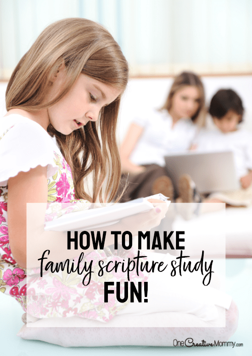 Make Family Scripture Study Fun with Drawn In!