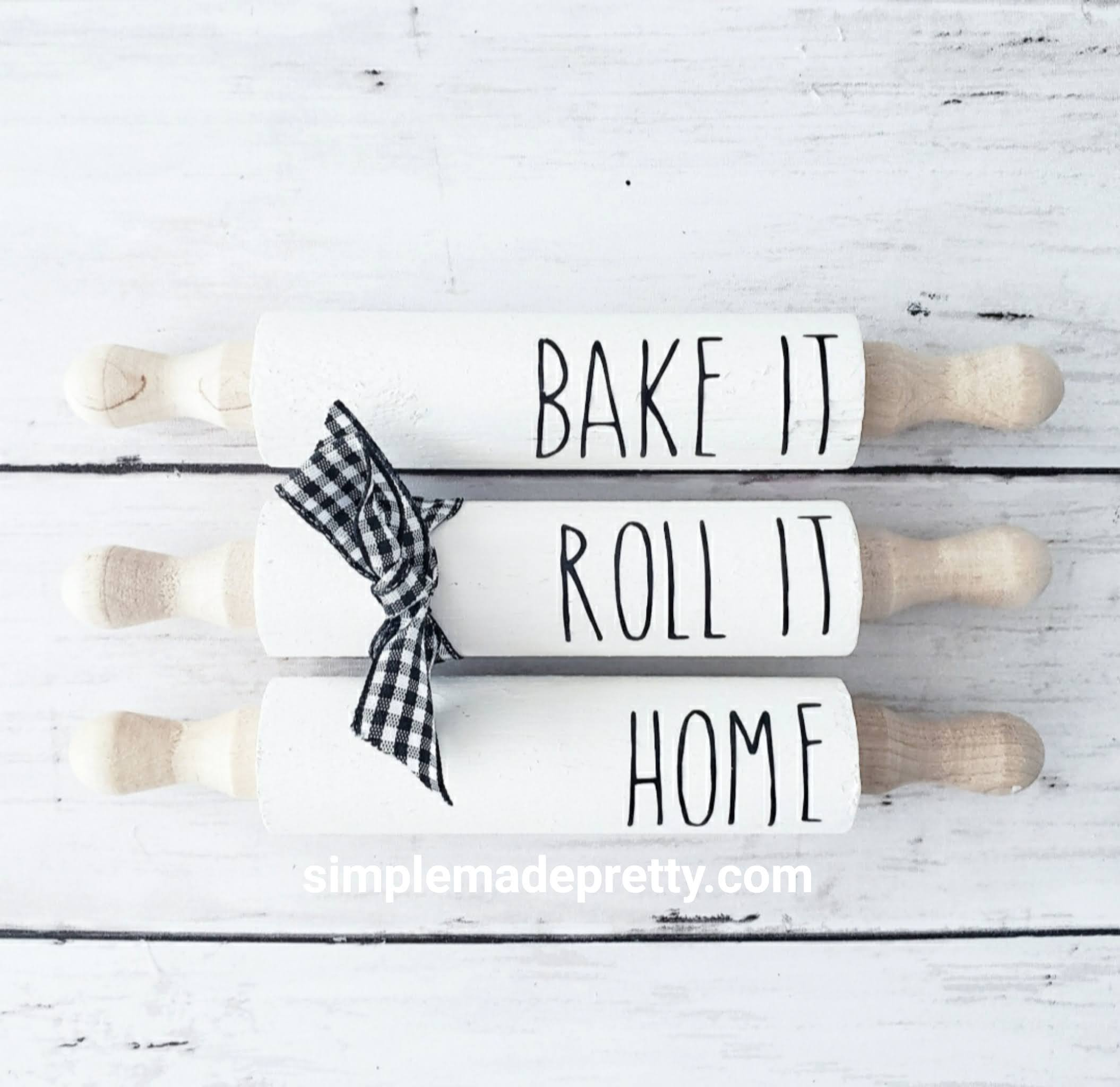 DIY Mini Rolling Pins