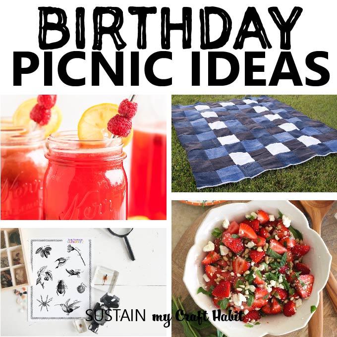 Birthday Picnic Ideas