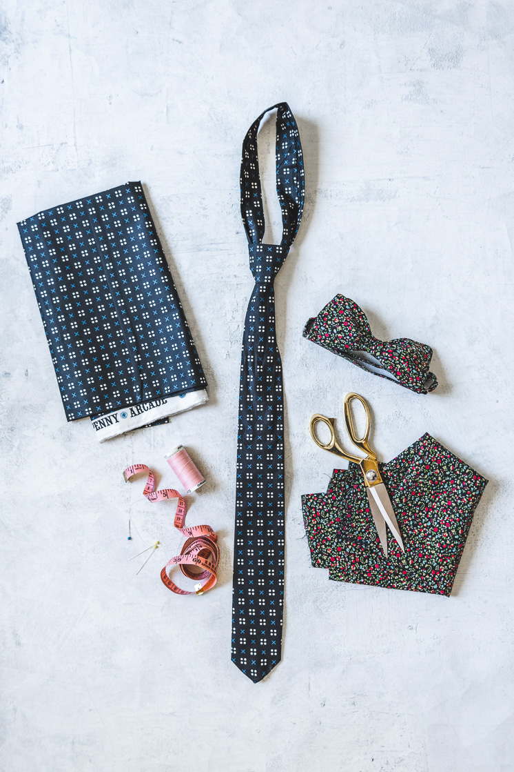 Father's Day Tie and Bowtie Pattern