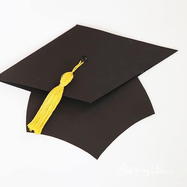 DIY Graduation Cap Gift Card Holder