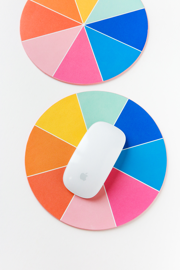 Color Wheel Mouse Pad Launch + Free Wallpaper Downloads