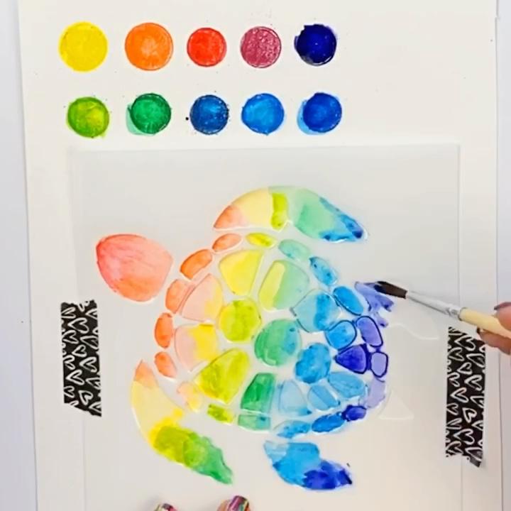 Turn Watercolor Pencils into a Paint Palette