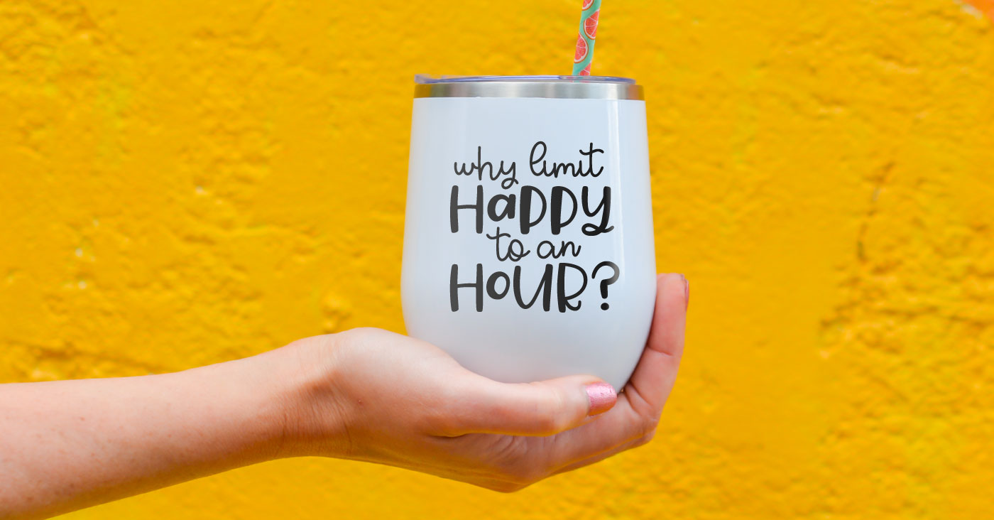 Happy Hour SVG Bundle for Cricut and Silhouette