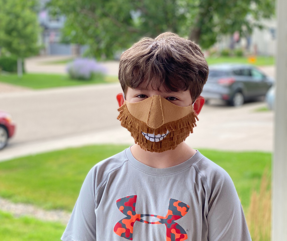 Funny Felt Face Masks