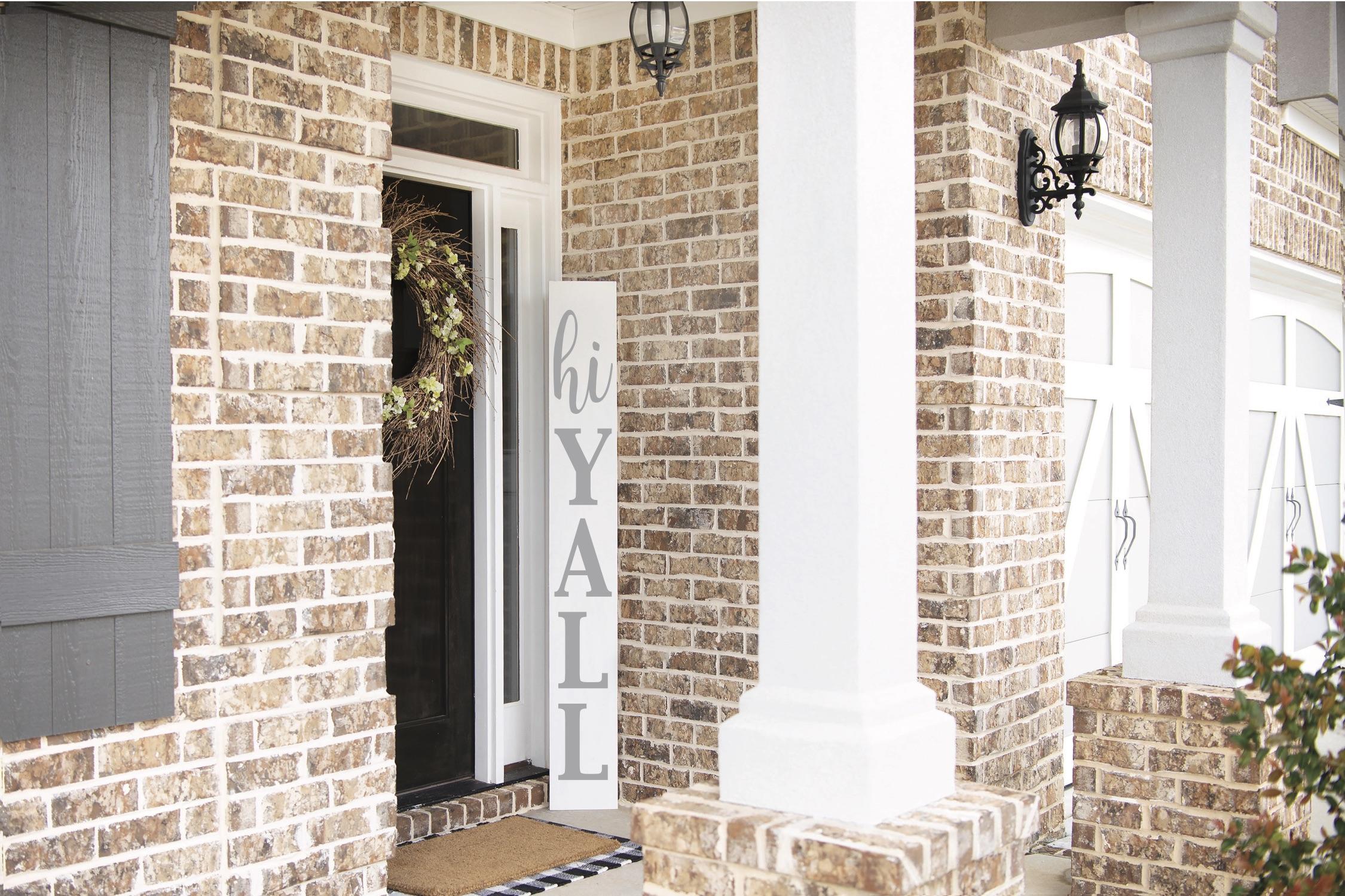 Simple DIY Porch Sign