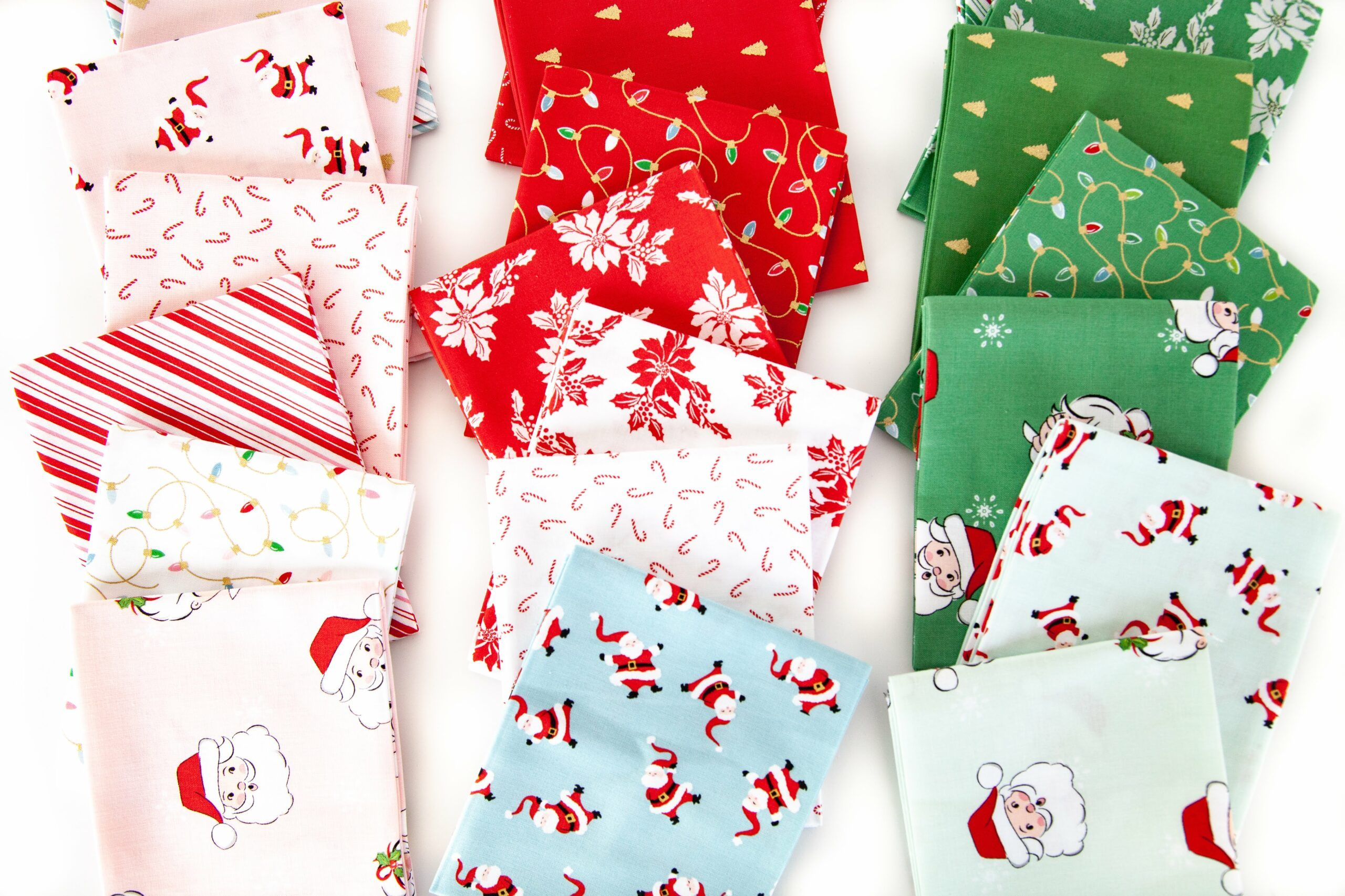 Introducing the Santa Claus Lane Fabric Collection