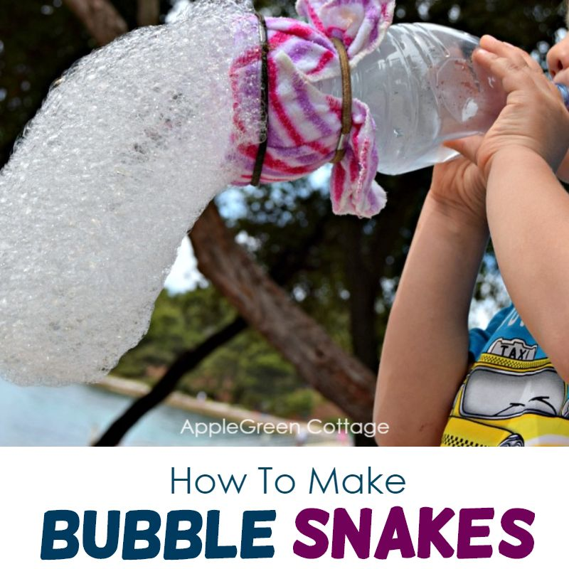 How To Make Bubble Snakes – Fun And Easy!