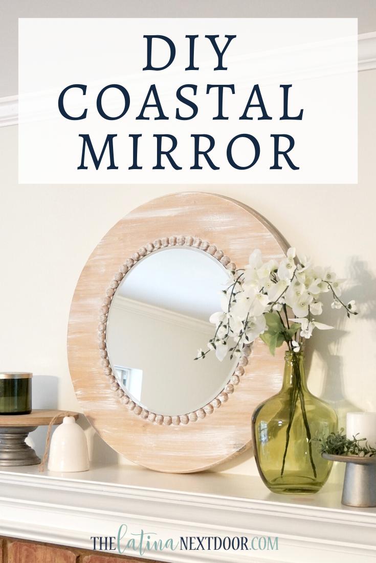 DIY Coastal Mirror