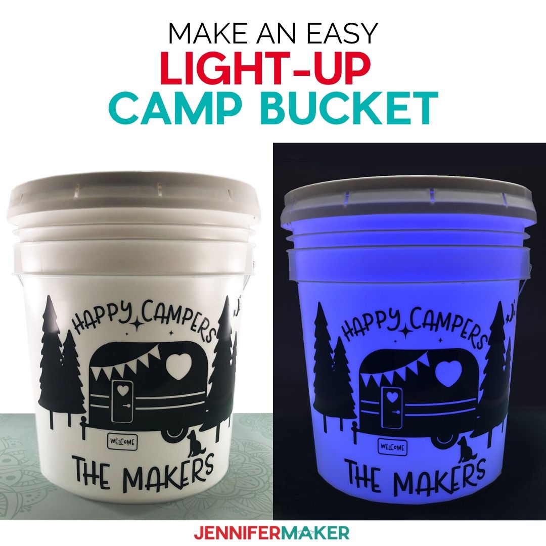 How to Make a Camping Light Bucket – Quick and Easy!