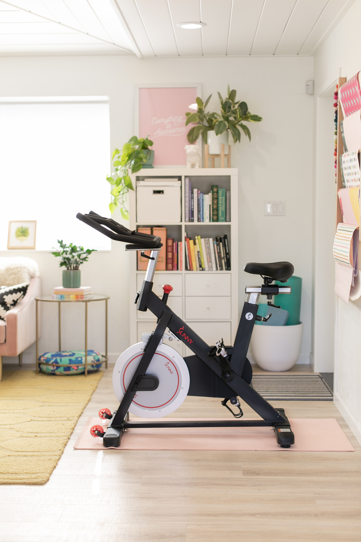 A Peloton Alternative // Money Saving Hacks for Spinning at Home