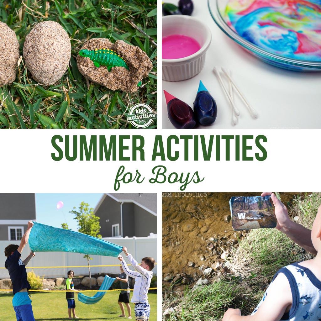 Summer Activities for Boys