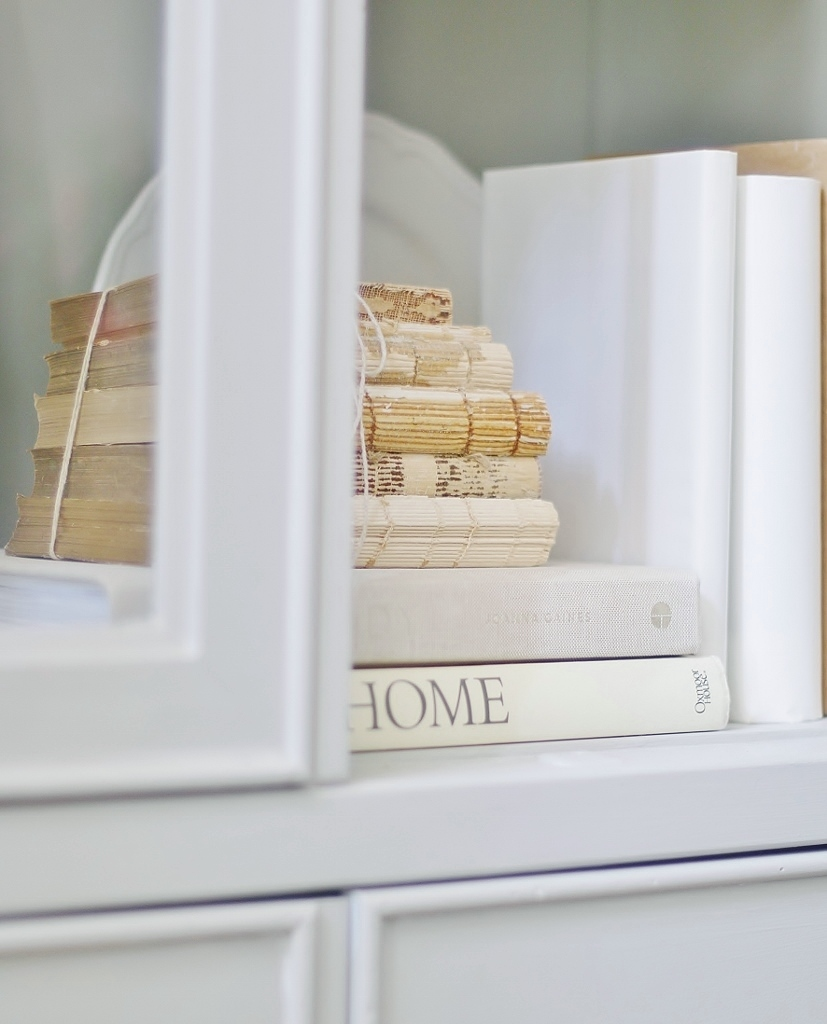 Thrift Store Finds: Decorating and Styling a Hutch