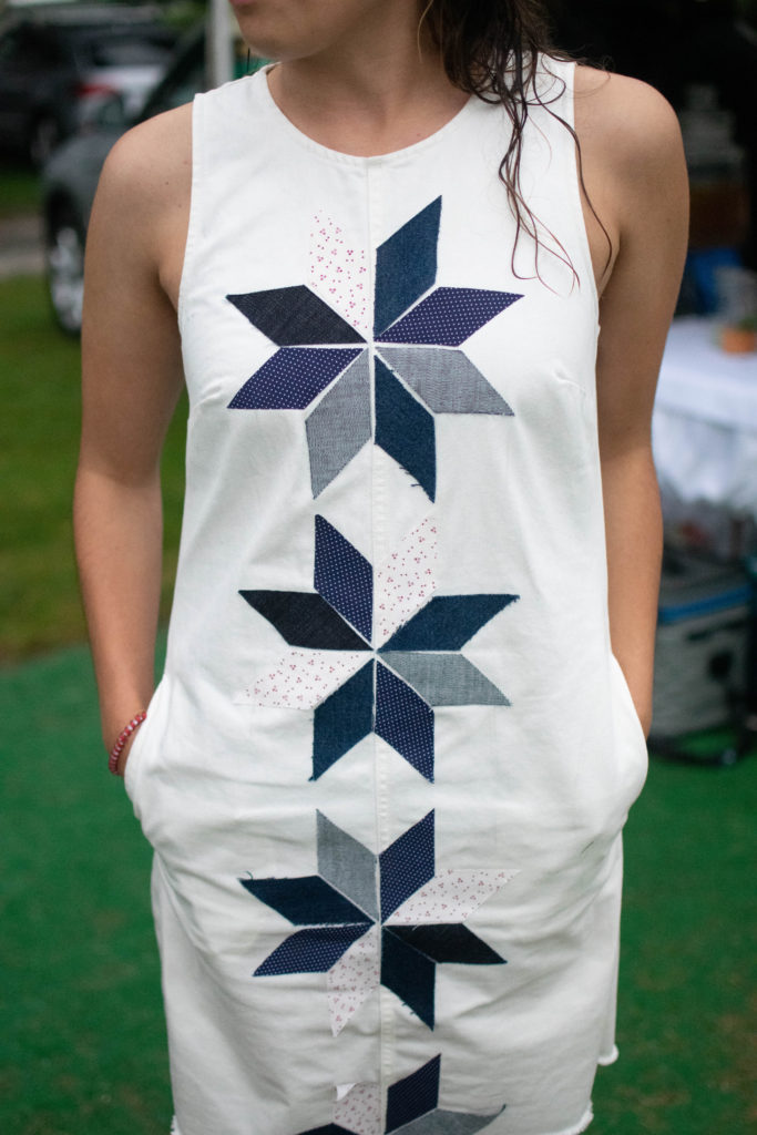 Quilted Patchwork Dress Tutorial