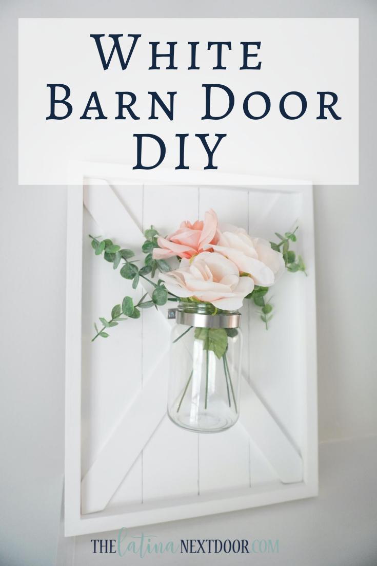 Farmhouse Barn Door DIY