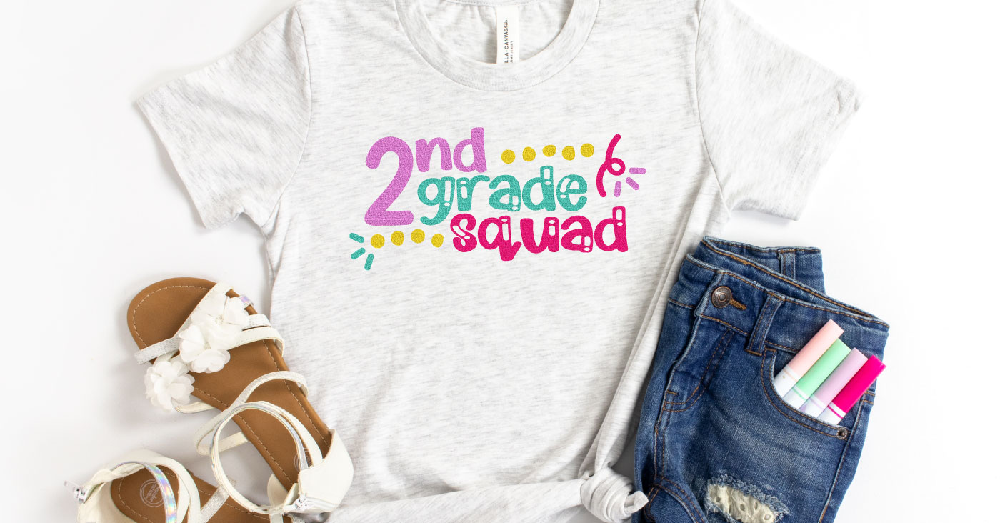 12 School Squad SVG Files for Back to School