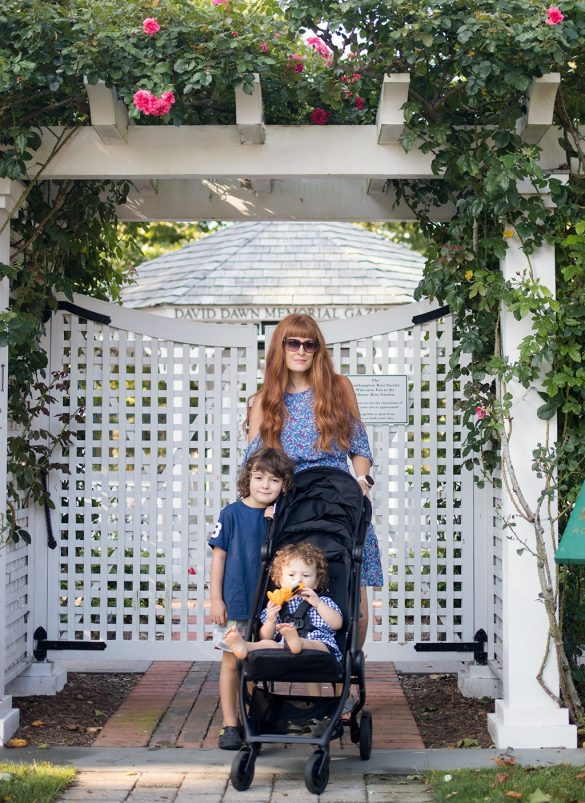 Weekend Staycation with the ErgobabyMetro Compact City Stroller