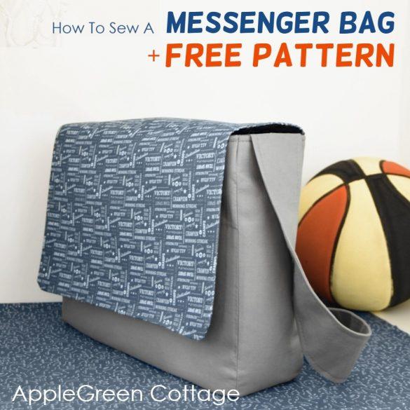Messenger Bag Pattern – Sewing Tutorial