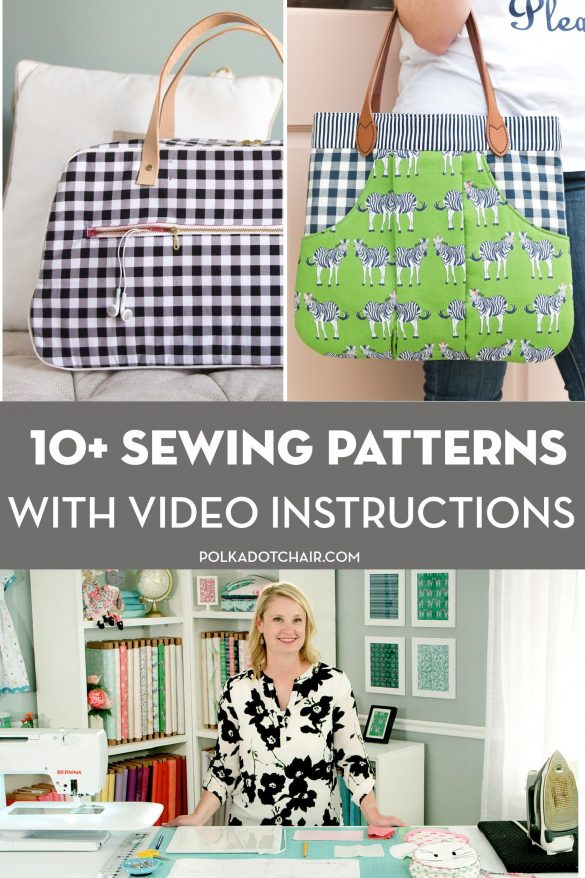 How to Find Video Tutorials for our Most Popular Quilt & Sewing Patterns