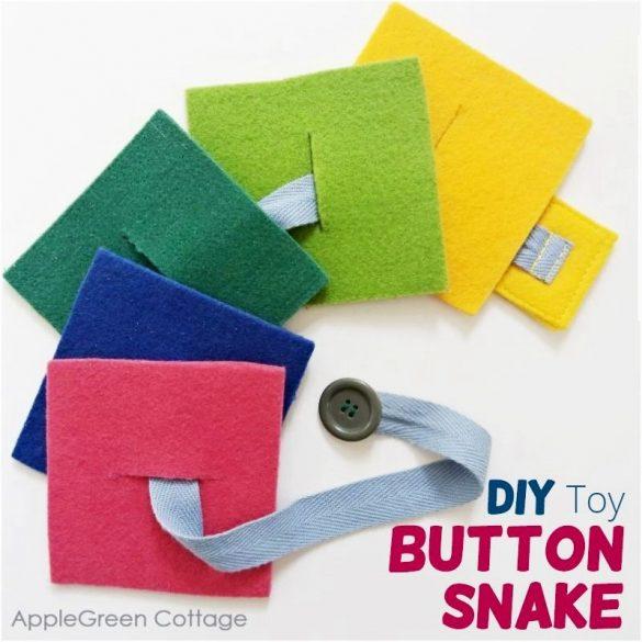 Diy Felt Button Snake – Best Diy Toys To Make!