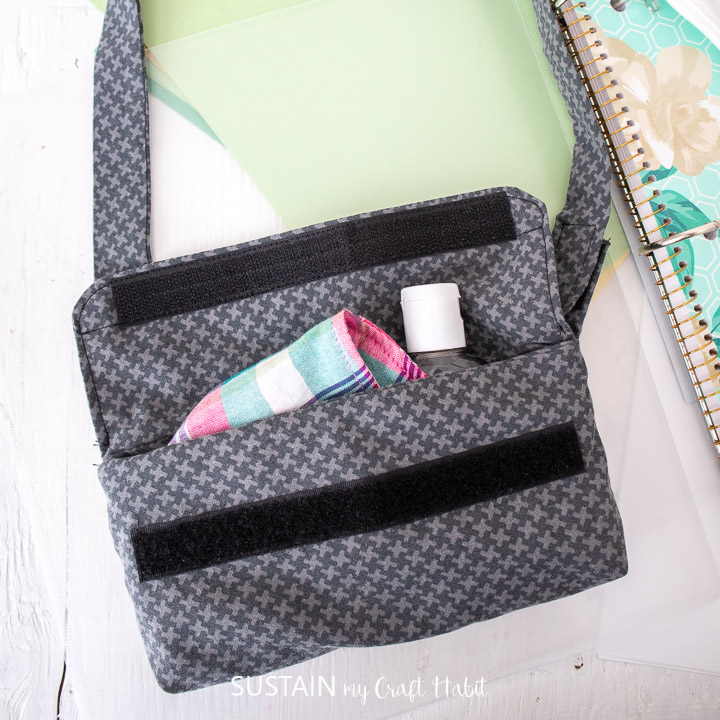 DIY Mask Pouch for Kids (Free Sewing Pattern)