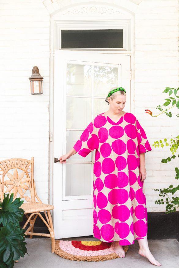 DIY rainbow doormat inspired by my latest tv show binge